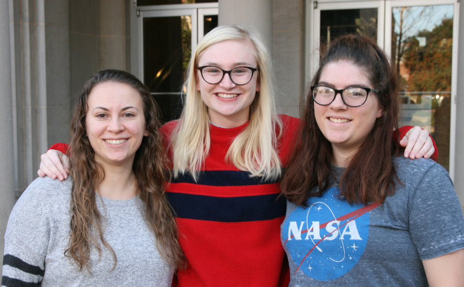Casey DeMarco, Annie Ford and Danielle Bruce