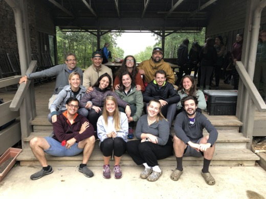 MAT students at N.C. Outward Bound School