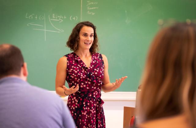 Marisa Marraccini teaching