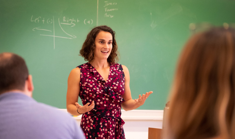Marisa Marraccini teaching