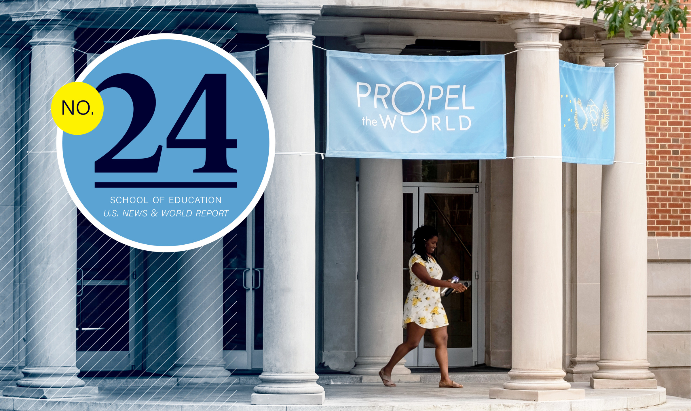 At No. 24, Carolina extends rise in national rankings of schools of education