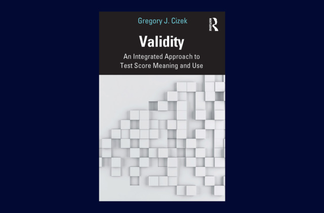 Validity, a new book by Gregory Cizek