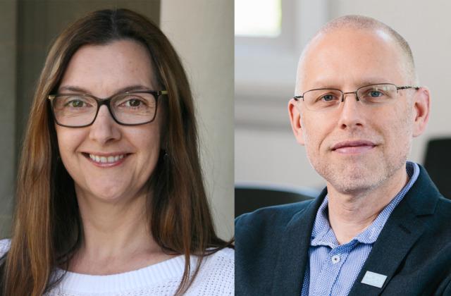 Dalila Dragnić-Cindrić and Jeffrey Greene