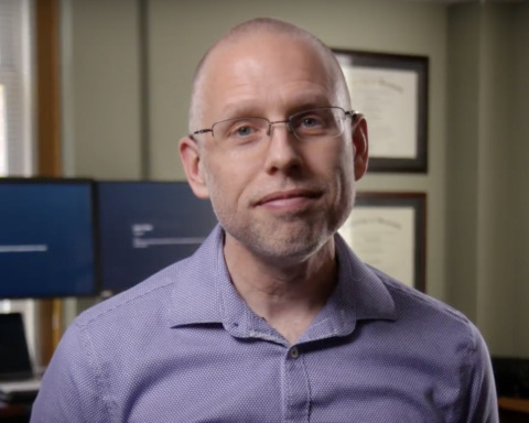 Faculty member Jeff Greene frame from Propel the World video