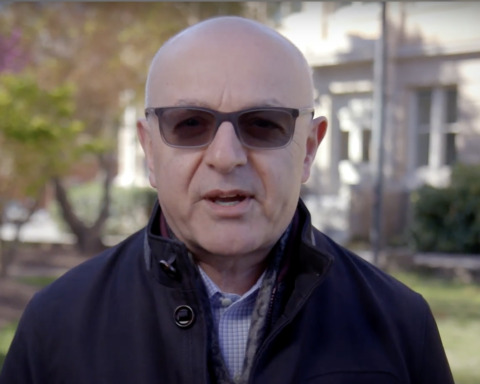 Alumnus Moise Khayrallah frame from Propel the World video