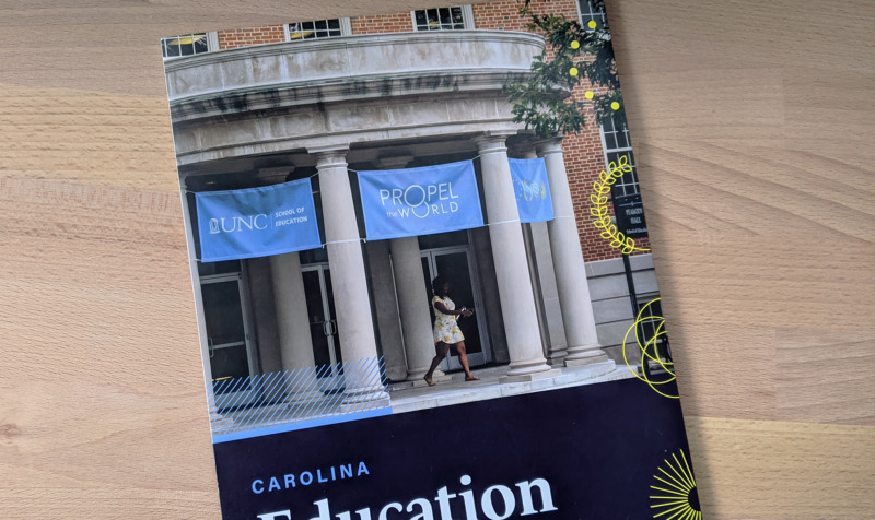 Cover of Carolina Education mailer