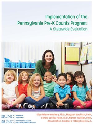 Pennsylvania Pre-K Counts Implementation Study cover