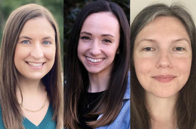 Karen Hall, Katie Ingram and Cari Pittleman